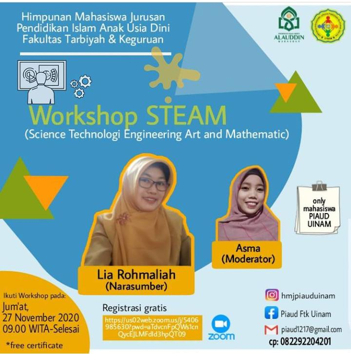 Workshop STEAM